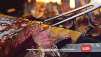 Golden Corral Premium Weekends TV Spot, 'Prime Rib' [Spanish] - Thumbnail 7