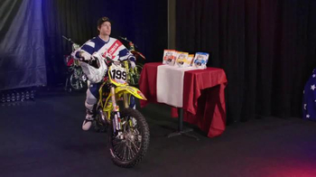 Oberto TV Spot, 'Backflip' Featuring Travis Pastrana, Stephen A. Smith - Thumbnail 1