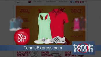 Tennis Express Sizzling Summer Sale TV Spot, 'Shoes & Apparel' - Thumbnail 4