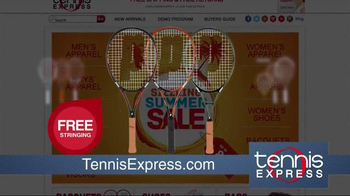 Tennis Express Sizzling Summer Sale TV Spot, 'Shoes & Apparel' - Thumbnail 5