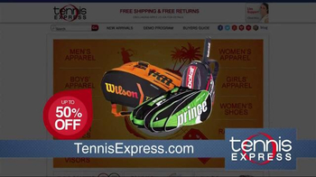 Tennis Express Sizzling Summer Sale TV Spot, 'Shoes & Apparel' - Thumbnail 6