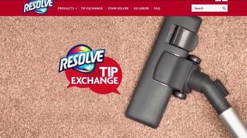 Resolve Carpet Cleaner TV Spot, 'Tip Exchange: Hallways & Red Wine' - Thumbnail 1