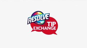 Resolve Carpet Cleaner TV Spot, 'Tip Exchange: Hallways & Red Wine'