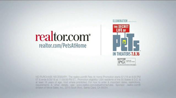 Realtor.com TV Spot, 'The Secret Life of Pets: Pets at Home Casting Call' - Thumbnail 9