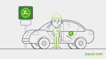 Zipcar App TV Spot, 'Car Sharing for Errands and Adventures'