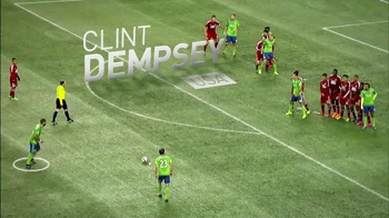 Major League Soccer TV Spot, 'Clint Dempsey' [Spanish] - 14 commercial airings