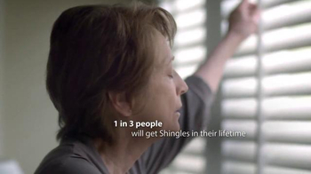 Merck TV Spot, 'Day #20 With Shingles' - 872 commercial airings
