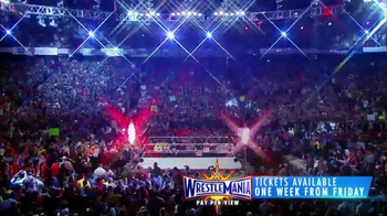 Ticketmaster TV Spot, '2017 WrestleMania: Orlando' Song by Shanks Mansell - 5 commercial airings