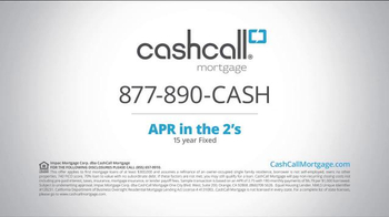 CashCall Mortgage TV Spot, 'Pull Cash Out' - Thumbnail 9