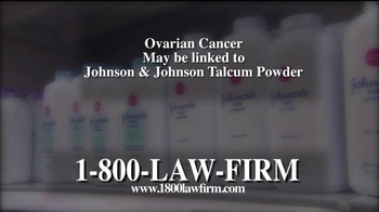1-800-LAW-FIRM TV Spot, 'Ovarian Cancer Victims' - Thumbnail 2
