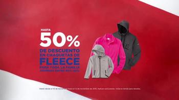 Sears Ofertas de Veterans Day TV Spot, 'Fleece y botas' [Spanish]