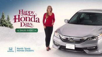 Happy Honda Days Sales Event TV Spot, '2017 Accord' - Thumbnail 2