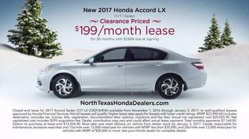 Happy Honda Days Sales Event TV Spot, '2017 Accord' - Thumbnail 3