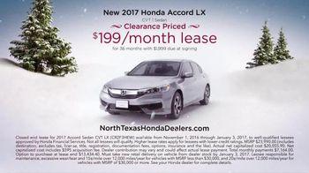 Happy Honda Days Sales Event TV Spot, '2017 Accord' - Thumbnail 4