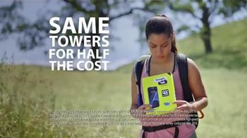 Straight Talk Wireless TV Spot, 'Coverage on the Same Towers, For Less!' - 2505 commercial airings
