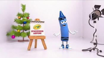 Crayola TV Spot, 'Spokes-Crayons Auditions' - Thumbnail 1