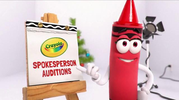 Crayola TV Spot, 'Spokes-Crayons Auditions'