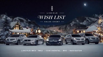 Lincoln Wish List Sales Event TV Spot, 'Christmas Train' - Thumbnail 7