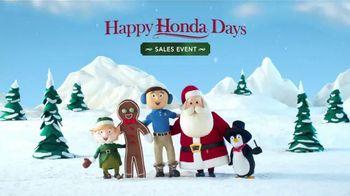 Happy Honda Days Sales Event TV Spot, 'Holiday Volunteer: 2016 CR-V LX' - Thumbnail 9