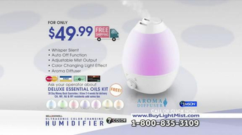 Ultrasonic Color Changing Humidifier TV Spot, 'Soothing' - Thumbnail 8