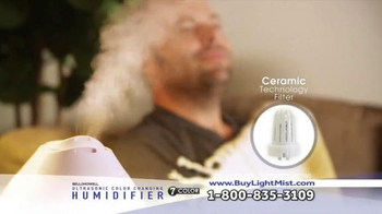 Ultrasonic Color Changing Humidifier TV Spot, 'Soothing' - Thumbnail 2