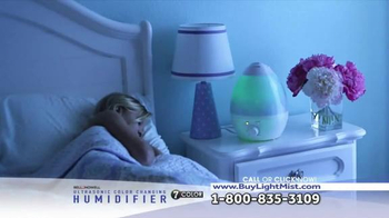 Ultrasonic Color Changing Humidifier TV Spot, 'Soothing' - Thumbnail 6
