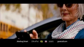 GreatCall Jitterbug Smart TV Spot, 'Having Mom Around: Holidays' - 1697 commercial airings