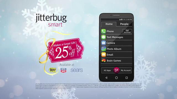 GreatCall Jitterbug Smart TV Spot, 'Having Mom Around: Holidays' - Thumbnail 6