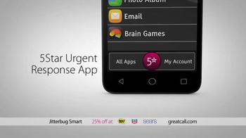 GreatCall Jitterbug Smart TV Spot, 'Having Mom Around: Holidays' - Thumbnail 3