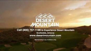 Desert Mountain TV Spot, 'Great Golf Is Just the Beginning' - Thumbnail 9