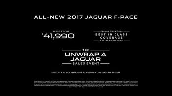 Unwrap a Jaguar Sales Event TV Spot, 'Adapt: 2017 Jaguar F-PACE' [T2] - Thumbnail 10