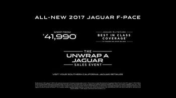 Unwrap a Jaguar Sales Event TV Spot, 'Adapt: 2017 Jaguar F-PACE' [T2] - Thumbnail 9