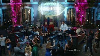 Nissan TV Spot, 'Heisman House: Not Quite Midnight' Feat. Herschel Walker - 6 commercial airings
