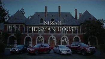 Nissan TV Spot, 'Heisman House: Not Quite Midnight' Feat. Herschel Walker - Thumbnail 1