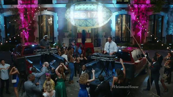 Nissan TV Spot, 'Heisman House: Not Quite Midnight' Feat. Herschel Walker - 6 commercial airings