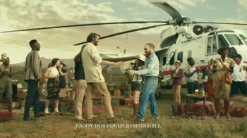 Dos Equis TV Spot, 'The New Most Interesting Man:Tailgate in the Serengeti' - Thumbnail 8