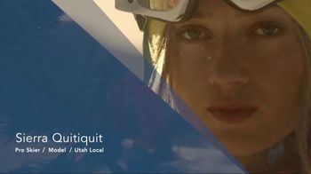 Utah Office of Tourism TV Spot, 'Greatest Snow' Featuring Sierra Quitiquit - 1 commercial airings