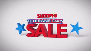 Sleepy's Veteran's Holiday Sale TV Spot, 'Inventory Closeouts' - Thumbnail 1