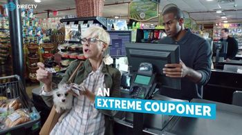 DIRECTV and AT&T TV Spot, 'Extreme Couponer'