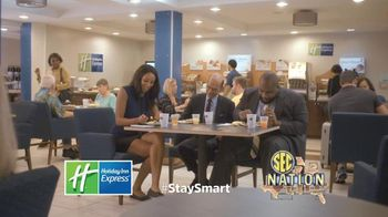 Holiday Inn Express TV Spot, 'SEC Network: Thankful' Feat. Paul Finebaum - 10 commercial airings