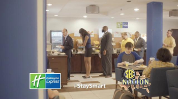Holiday Inn Express TV Spot, 'SEC Network: Opinion' Featuring Paul Finebaum
