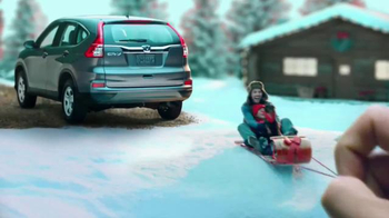 Happy Honda Days TV Spot, 'Great Outdoors CR-V' [T2]