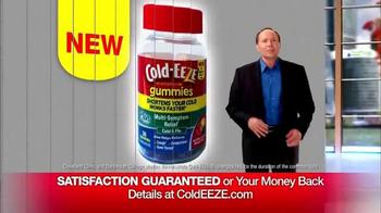 Cold EEZE Plus Multi-Symptom Relief Cold & Flu Gummies TV Spot, 'Guarantee' - Thumbnail 8