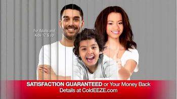 Cold EEZE Plus Multi-Symptom Relief Cold & Flu Gummies TV Spot, 'Guarantee' - Thumbnail 6