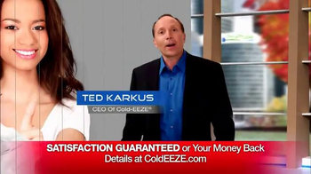 Cold EEZE Plus Multi-Symptom Relief Cold & Flu Gummies TV Spot, 'Guarantee' - Thumbnail 7