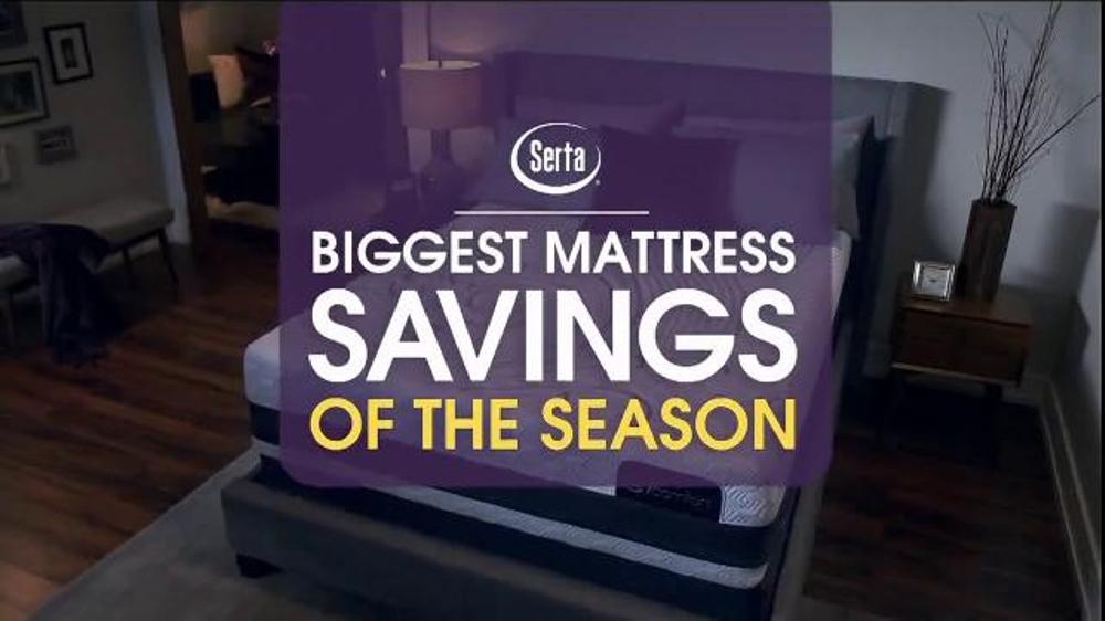 Serta Biggest Savings Of The Season Tv Commercial Icomfort Free