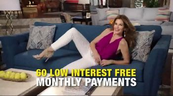 Rooms to Go Holiday Sale TV Spot, 'Something Cindy' Feat. Cindy Crawford - Thumbnail 7