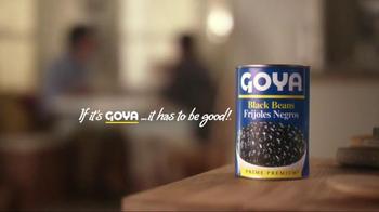 Goya Black Beans TV Spot, 'You're Going to Eat It All' - Thumbnail 10