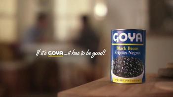 Goya Black Beans TV Spot, 'You're Going to Eat It All' - Thumbnail 9