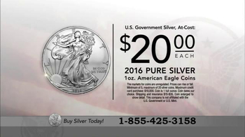 U.S. Money Reserve TV Spot, 'Buy Silver Now' - Thumbnail 1